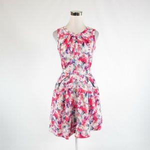 Pink red MCGINN A-line dress 4